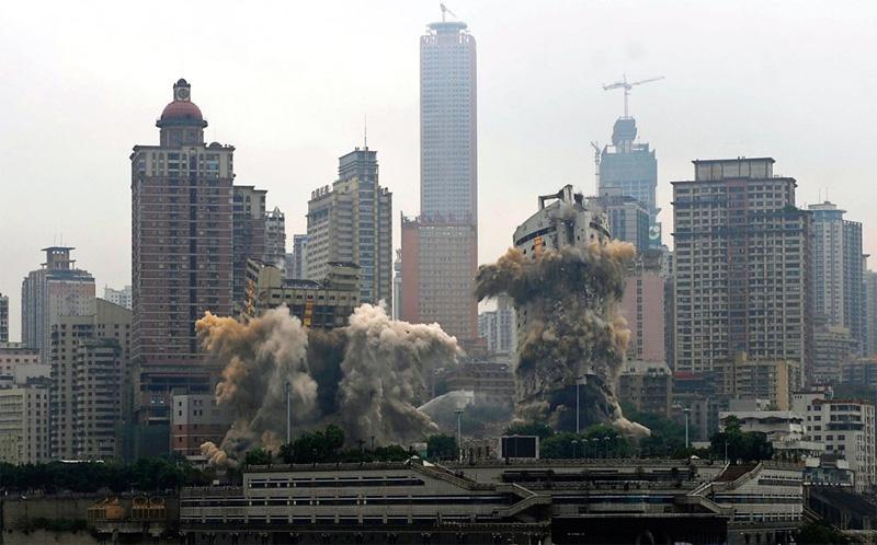Demolition Chongqing China