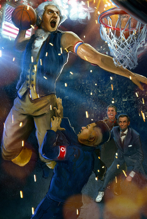 Washington Dunks On Kim Jong Un